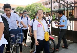 181 thí sinh vắng mặt kỳ thi THPT quốc gia 2019