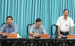 Thống nhất kế hoạch triển khai xây dựng Tầm nhìn chiến lược phát triển tỉnh Bến Tre