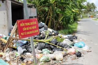 Tiên Thủy gặp khó trong giải quyết rác thải