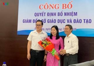 Đà Nẵng bổ nhiệm bà Lê Thị Bích Thuận làm Giám đốc Sở GD-ĐT