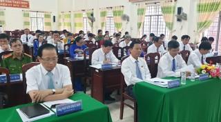 HĐND huyện Thạnh Phú khóa XI họp kỳ thứ 9