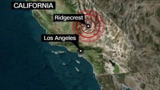 Ban bố tình trạng khẩn cấp ở California sau 2 trận động đất liên tiếp