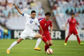 Triều Tiên đánh bại Tajikistan 1-0