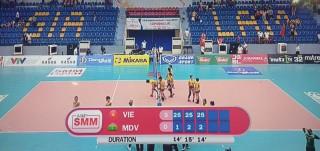 U23 Việt Nam giành chiến thắng áp đảo trước U23 Maldives