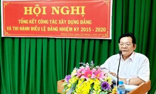 Giồng Trôm tổng kết công tác xây dựng Đảng và thi hành Điều lệ Đảng nhiệm kỳ 2015 - 2020