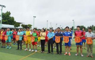 Công đoàn ngành Giáo dục tổ chức Giải bóng đá mini nam và bóng chuyền hơi nữ