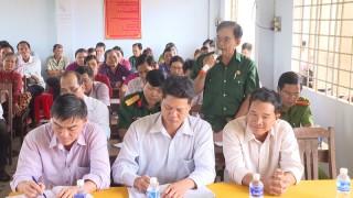 Đại biểu HĐND hai cấp tiếp xúc cử tri huyện Thạnh Phú