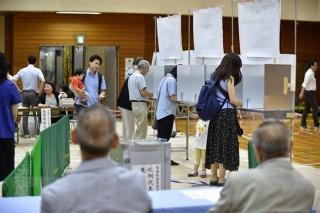 Bầu cử Thượng viện Nhật Bản: Tỷ lệ cử tri đi bỏ phiếu thấp