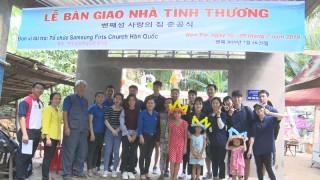 Samsung First Church tài trợ khoảng 300 triệu đồng thực hiện an sinh xã hội tại huyện Mỏ Cày Bắc