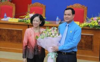 Ông Nguyễn Đình Khang được bầu làm Chủ tịch Tổng Liên đoàn Lao động Việt Nam