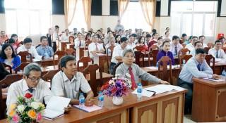 Phòng Giáo dục và Đào tạo TP. Bến Tre đón nhận Huân chương Lao động hạng Nhì