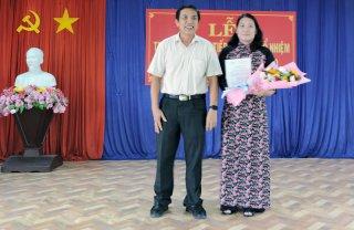 Bà Nguyễn Thị Bé Mười giữ chức Giám đốc Sở Lao động - Thương binh và Xã hội