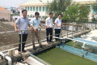 Bình Đại đưa vào vận hành nhà máy xử lý nước thải làng nghề Bình Thắng