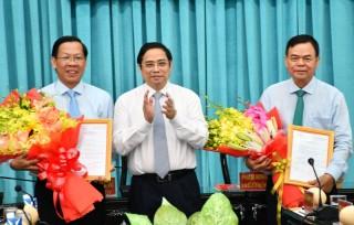 Công bố quyết định chuẩn y Bí thư Tỉnh ủy Bến Tre đối với đồng chí Phan Văn Mãi