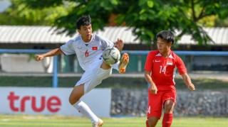 U15 Đông Nam Á: U15 Việt Nam có bàn thắng quý như vàng trước U15 Timor Leste