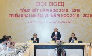Thủ tướng dự Hội nghị tổng kết năm học của ngành giáo dục