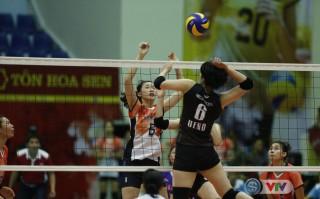 VTV Cup 2019: NEC Nhật Bản lội ngược dòng đánh bại Triều Tiên