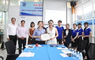 Ký kết hợp tác tuyển sinh du học quốc tế