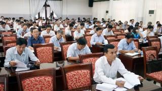 Đảng ủy Khối Cơ quan - Doanh nghiệp tỉnh: Triển khai các nội dung về đại hội đảng các cấp