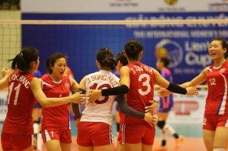 VTV Cup 2019: Đánh bại Club Altay Oskemen, Triều Tiên gặp Việt Nam