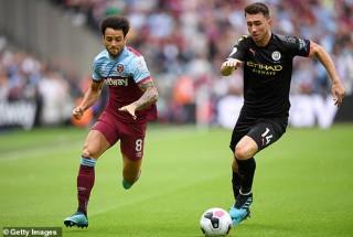 Vòng 1 Ngoại hạng Anh 2019/20:  Sterling hoàn tất cú hat-trick, Man City thắng đậm West Ham 5-0