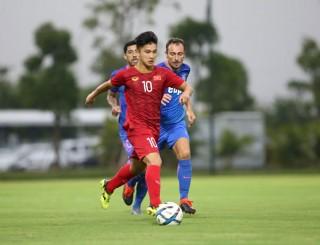 U23 Việt Nam đánh bại Kitchee 2-0