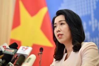 Yêu cầu Trung Quốc rút tàu Hải Dương 8 và tàu hộ tống ra khỏi vùng biển Việt Nam