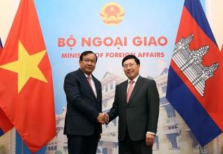 Việt Nam, Campuchia bàn biện pháp thúc đẩy quan hệ song phương