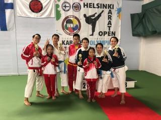 Giải Karate Helsinki mở rộng: Đoàn Karatedo Việt Nam giành 14 huy chương
