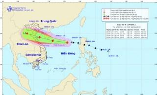 Tin bão trên Biển Đông (Cơn bão số 4)