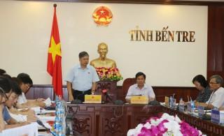Ủy ban Đối ngoại Quốc hội làm việc với UBND tỉnh