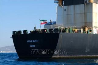 Thông tin chưa rõ ràng về hành trình của tàu chở dầu Iran