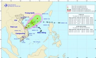 Tin áp thấp nhiệt đới trên đất liền và trên biển Đông
