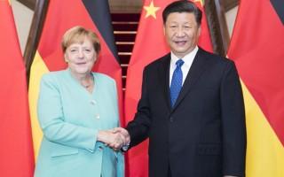 Thủ tướng Angela Merkel hội kiến Chủ tịch Trung Quốc Tập Cận Bình