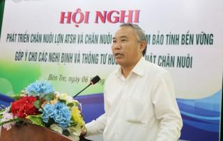 Hội nghị về phát triển chăn nuôi heo an toàn, đảm bảo tính bền vững