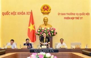 Khai mạc Phiên họp thứ 37 của Ủy ban Thường vụ Quốc hội