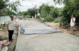Bình Thành hướng tới xây dựng xã nông thôn mới nâng cao