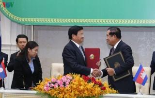Campuchia - Lào thiết lập quan hệ đối tác chiến lược toàn diện