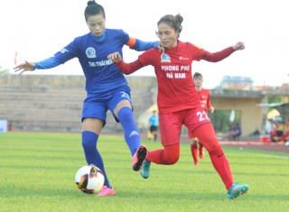 Phong Phú Hà Nam thắng dễ dàng trước TNG.Thái Nguyên