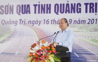 Thủ tướng: Tuyến đầu tiên của cao tốc Bắc-Nam phía Đông phải là hình mẫu