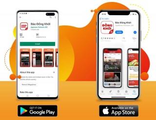 Báo Đồng Khởi ra mắt ứng dụng đọc báo trên App Store và Google Play