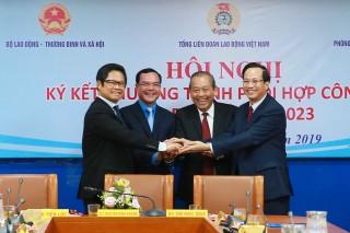 Phó thủ tướng Thường trực dự Lễ ký kết hợp tác về quan hệ lao động