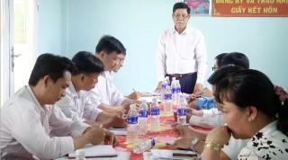Kiểm tra thực hiện quy chế dân chủ  tại xã Hương Mỹ