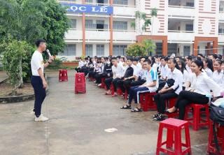 600 học sinh tham gia chương trình giáo dục kỹ năng sống