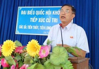 Đại biểu Quốc hội đơn vị tỉnh tiếp xúc cử tri tại huyện Châu Thành