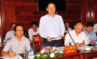 Tổ công tác của Chính phủ kiểm tra công vụ tại Bình Phước