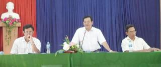 Hưng Phong đạt 7/19 tiêu chí xã nông thôn mới