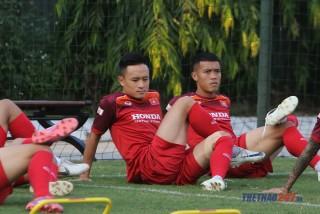 Tiền vệ Võ Huy Toàn bị chấn thương khá nặng