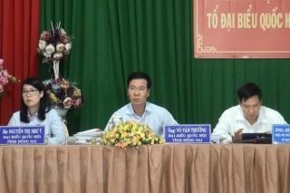 Trưởng Ban Tuyên giáo Trung ương Võ Văn Thưởng: Xử lý nghiêm những cán bộ, đảng viên vi phạm
