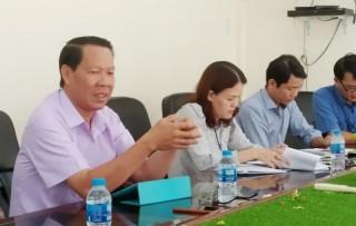Bí thư Tỉnh ủy Phan Văn Mãi làm việc với Sở Văn hóa, Thể thao và Du lịch